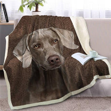 Load image into Gallery viewer, Dachshund Love Soft Warm Fleece BlanketBlanketLabradorSmall