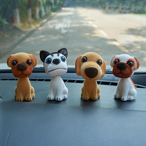Dalmatian Love Bobblehead for CarCar Accessories
