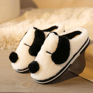 Dalmatian Love Warm Indoor SlippersSlippers