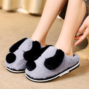 Dalmatian Love Warm Indoor SlippersSlippersLight Blue5.5