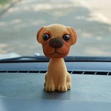 Load image into Gallery viewer, Doggo Love Bobbleheads for CarCar AccessoriesPug - Fawn