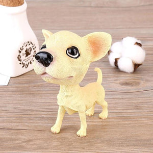 Doggo Love Car Bobble HeadsCarChihuahua