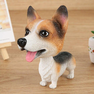 Doggo Love Car Bobble HeadsCarCorgi