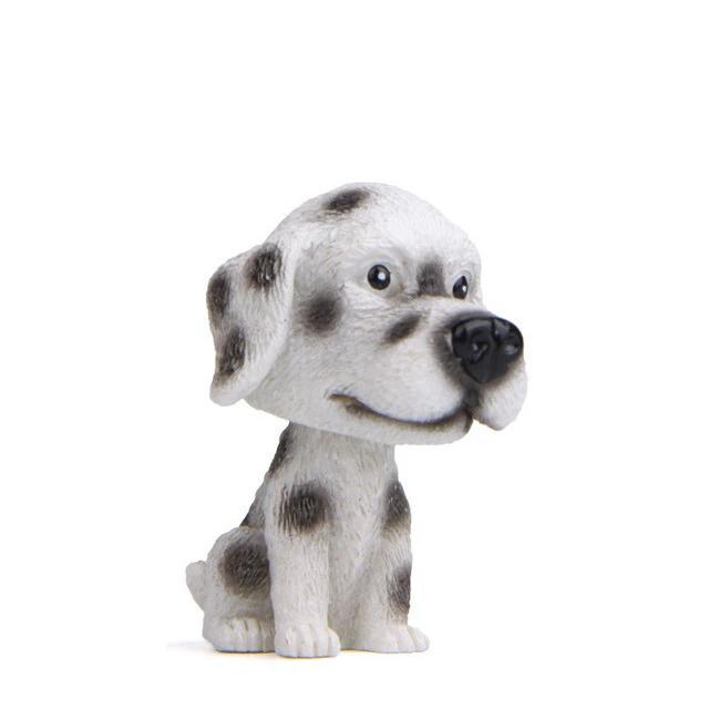 Doggo Love Miniature Car BobbleheadsCarDalmatian
