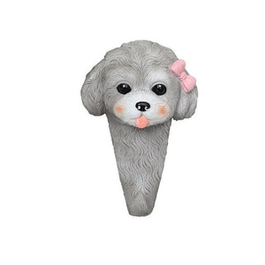 Doggo Love Multipurpose Wall HooksHome DecorMini Poodle - 1 pc
