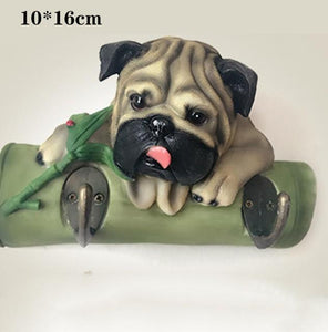 Doggo Love Multipurpose Wall HooksHome DecorPug