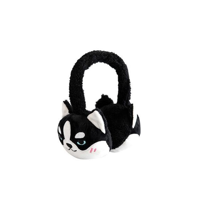 Doggo Love Soft Plush EarmuffsHome DecorHusky