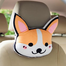 Load image into Gallery viewer, Doggo Love Stuffed Cushion and Neck PillowCar Accessories