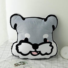 Load image into Gallery viewer, Doggo Love Stuffed Cushion and Neck PillowCar AccessoriesCar PillowSchnauzer
