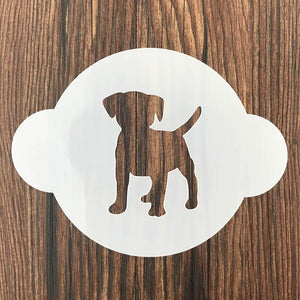 Doggo Love Sugar Art Stencil - 12 pcs SetHome Decor