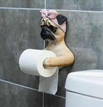 Load image into Gallery viewer, Doggo Love Toilet Roll HolderHome Decor
