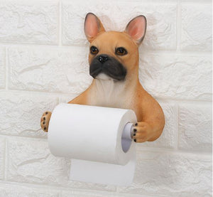 Doggo Love Toilet Roll Holders Home Decor -