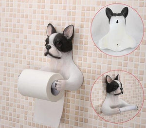 Doggo Love Toilet Roll HoldersHome DecorBoston Terrier
