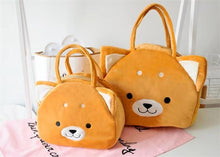 Load image into Gallery viewer, Doggo Shape Plush Handbag Bag iLoveMy.Pet