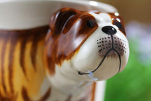 Load image into Gallery viewer, English Bulldog Love 3D Ceramic CupMug