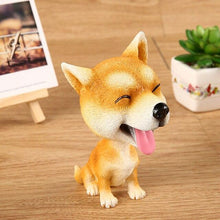 Load image into Gallery viewer, English Bulldog Love Car Bobble HeadCarAkita / Shiba Inu