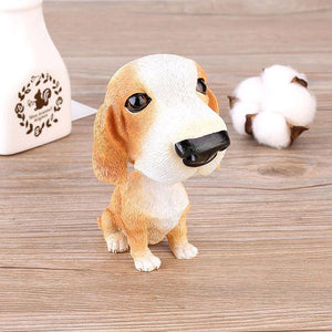 English Bulldog Love Car Bobble HeadCarBasset Hound