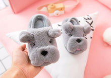 Load image into Gallery viewer, English Bulldog Love Kids SlippersFootwear