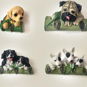 English Bulldog Love Multipurpose Wall HookHome Decor