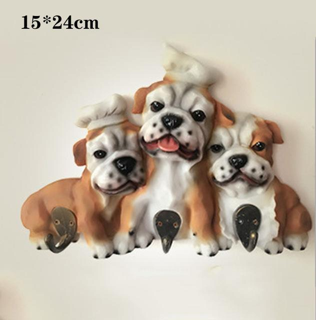 English Bulldog Love Multipurpose Wall HookHome DecorEnglish Bulldog