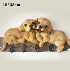 English Bulldog Love Multipurpose Wall HookHome DecorLabrador - Medium