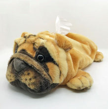 Load image into Gallery viewer, English Bulldog Love Plush Napkin HolderHome Decor