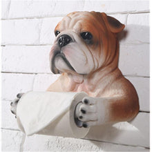 Load image into Gallery viewer, English Bulldog Love Toilet Roll HolderHome Decor