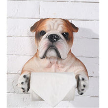 Load image into Gallery viewer, English Bulldog Love Toilet Roll HolderHome DecorDefault Title