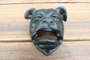 English Bulldog Love Vintage Cast iron Bottle Opener - 2 PcsHome Decor
