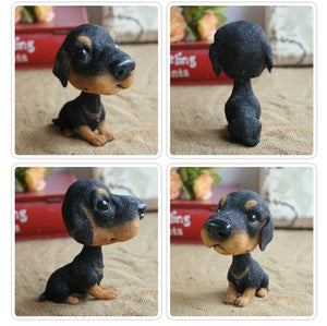 Extra Large Black Labrador BobbleheadCar AccessoriesDachshund