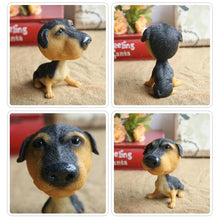 Load image into Gallery viewer, Extra Large Black Labrador BobbleheadCar AccessoriesRottweiler