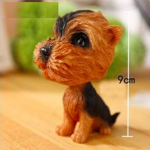 Extra Large Black Labrador BobbleheadCar AccessoriesYorkshire Terrier