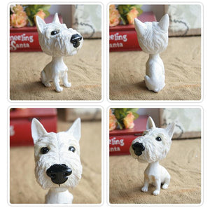 Extra Large Cocker Spaniel BobbleheadCar AccessoriesWest Highland Terrier