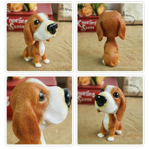 Extra Large Dalmatian BobbleheadCar AccessoriesBasset Hound