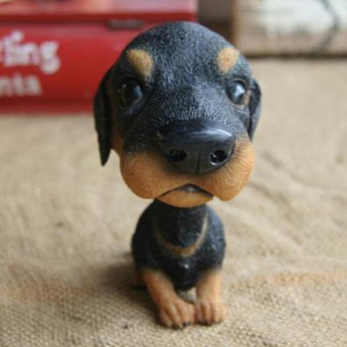 Extra Large Doberman BobbleheadCar AccessoriesDoberman