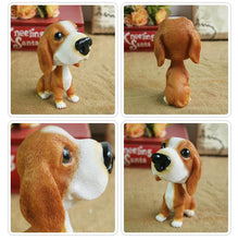Load image into Gallery viewer, Extra Large Golden Retriever BobbleheadCar AccessoriesBasset Hound