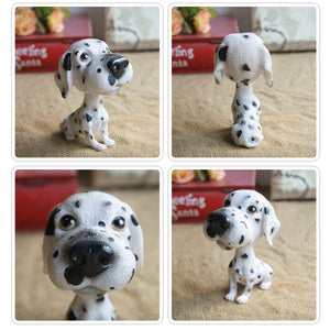 Extra Large Great Dane BobbleheadCar AccessoriesDalmatian
