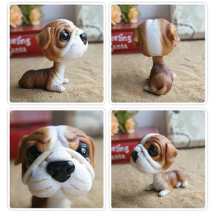 Extra Large Great Dane BobbleheadCar AccessoriesEnglish Bulldog