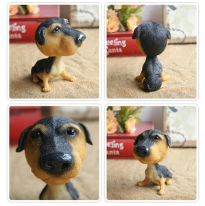 Extra Large Great Dane BobbleheadCar AccessoriesRottweiler