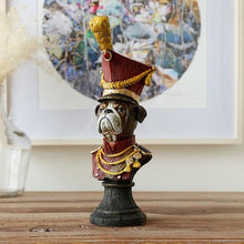 Load image into Gallery viewer, Field Marshal Bulldog Home DecorationHome DecorPointy Yellow Shako