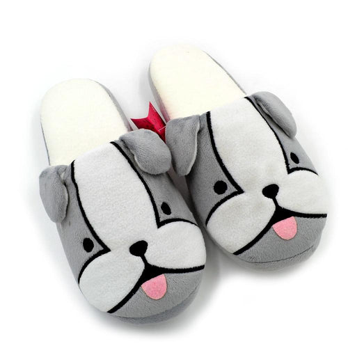 French Bulldog / Frenchie Love Indoor SlippersSlippersFrench Bulldog6.5