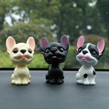 Load image into Gallery viewer, French Bulldog Love Car Bobble HeadCar