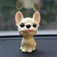 Load image into Gallery viewer, French Bulldog Love Car Bobble HeadCarTan / Cream