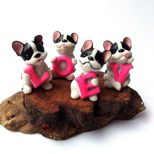 French Bulldog Love Desktop OrnamentHome Decor