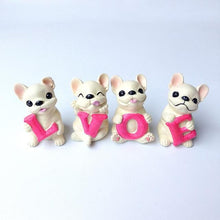 Load image into Gallery viewer, French Bulldog Love Desktop OrnamentHome DecorWhite