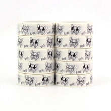 Load image into Gallery viewer, French Bulldog Love Masking Tape - 10 pcsHome Decor