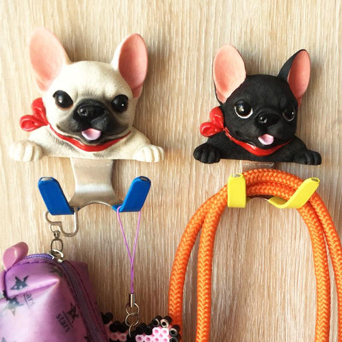 French Bulldog Love Multipurpose Wall HooksHome Decor
