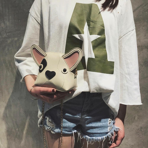French Bulldog Love Shoulder BagBag