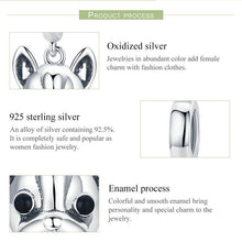 Load image into Gallery viewer, French Bulldog Love Silver PendantPendant