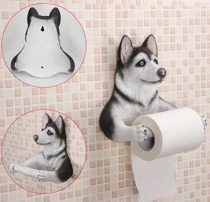 French Bulldog Love Toilet Roll HolderHome DecorHusky